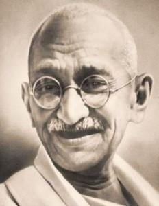 Mohandas K Gandhi