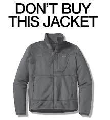 patagonia don't buy