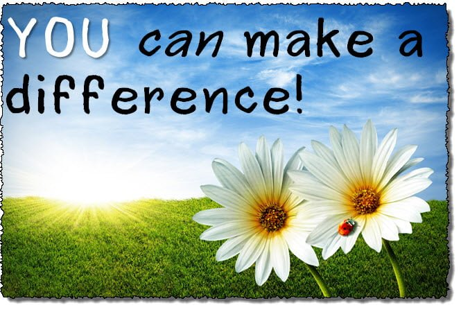 you-can-make-a-difference