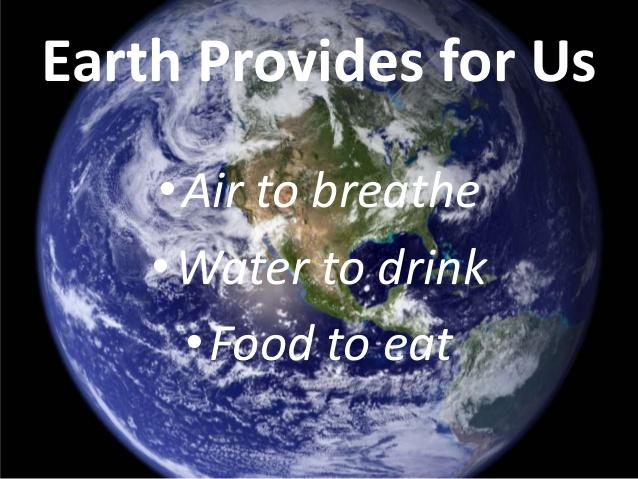 earth provides