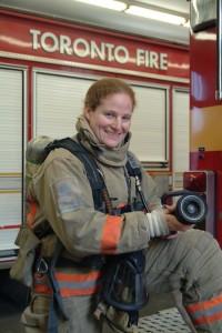 Toronto Firefighter, Adina Kaufman