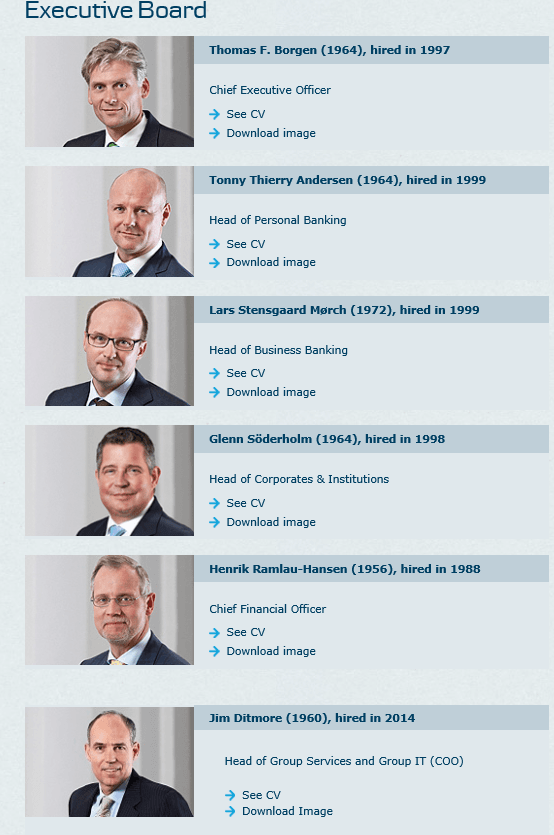 danske executive board