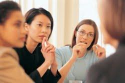 women collaborating