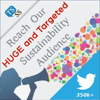 Reach our HUGE and Targeted Sustainability Audience 280k+