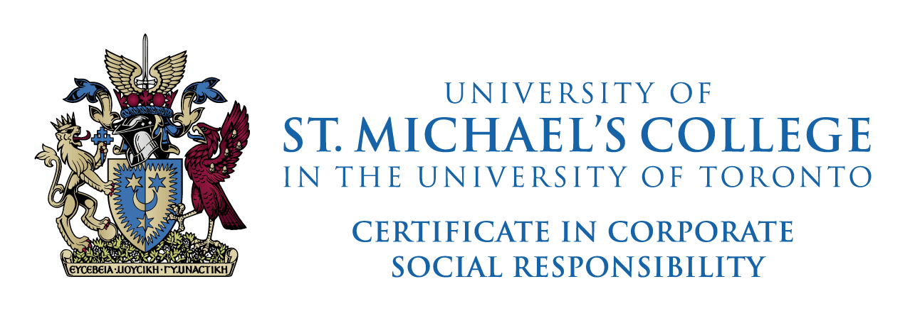 University Of St Michaels College At U Of T Certificate Program