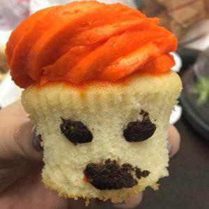 trump cupcake