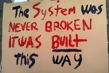 The System was never broken - it was built this way.